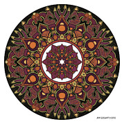 Jim Gogarty - Mandala drawing 32...