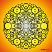 Jim Gogarty - Mandala drawing 37...