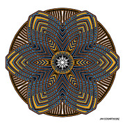 Jim Gogarty - Mandala drawing 39...