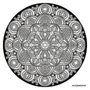 Jim Gogarty - Mandala drawing 42