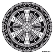 Jim Gogarty - Mandala Hand Drawing 43