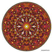 Jim Gogarty - Mandala Hand Drawing 44...