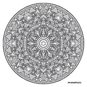 Jim Gogarty - Mandala Hand Drawing 44