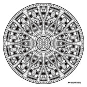 Jim Gogarty - Mandala Hand Drawing 45