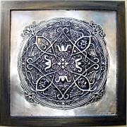 Featured Reliefs Originals - Mandala Mantra OM by Cacaio Tavares