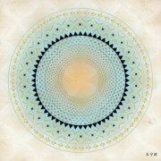 Metaphysics Prints - Mandala No. 33 Print by Alan Bennington