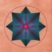 Metaphysics Posters - Mandala No. 41 Poster by Alan Bennington
