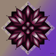 Metaphysics Posters - Mandala No. 43 Poster by Alan Bennington