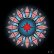 Metaphysics Posters - Mandala No. 46 Poster by Alan Bennington