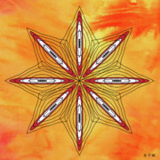 Metaphysics Posters - Mandala No. 48 Poster by Alan Bennington