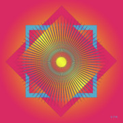 Metaphysics Posters - Mandala No. 49 Poster by Alan Bennington