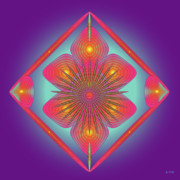 Metaphysics Posters - Mandala No. 51 Poster by Alan Bennington