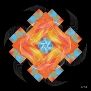Metaphysics Posters - Mandala No. 54 Poster by Alan Bennington