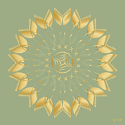 Metaphysics Posters - Mandala No. 62 Poster by Alan Bennington