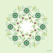 Metaphysics Posters - Mandala No. 66 Poster by Alan Bennington