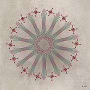 Metaphysics Posters - Mandala No. 68 Poster by Alan Bennington