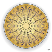 Metaphysics Posters - Mandala No. 72 Poster by Alan Bennington