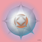 Metaphysics Posters - Mandala No. 84 Poster by Alan Bennington