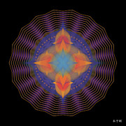 Metaphysics Posters - Mandala No. 87 Poster by Alan Bennington