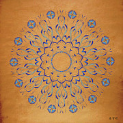 Metaphysics Posters - Mandala No. 93 Poster by Alan Bennington