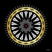 Metaphysics Posters - Mandala No. 97 Poster by Alan Bennington