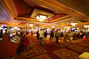 Gambling Originals - Mandalay Bay Casino Floor by Jessica Velasco