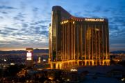 Jmp Photography Posters - Mandalay Bay Sunrise Poster by James Marvin Phelps