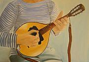 Chords Paintings - Mandolin by Beata Rosslerova