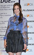 Ruffled Skirt Posters - Mandy Moore In Attendance For Aspca Poster by Everett
