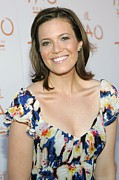 Stud Earrings Prints - Mandy Moore In Attendance For Tao Beach Print by Everett