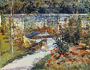 1881 art   manet  garden  1881