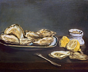 1862 Photos - Manet: Oysters, 1862 by Granger