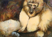 Primates Originals - Mangabay by Mo  McGee