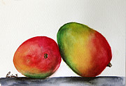 Mangos Paintings - Mangos by Prashant Shah