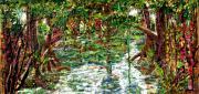 Mangroove Print by Samuel Miller