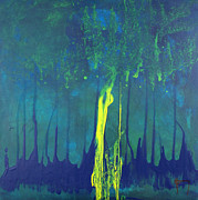 Mccoy Painting Posters - Mangrove Mood Poster by Nickola McCoy-Snell