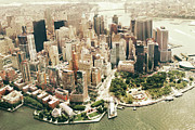 Manhattan Prints - Manhattan Print by Albert Mollon
