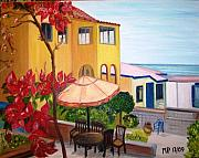 Seascape Paintings - Manhattan Beach by Madeleine Prochazka