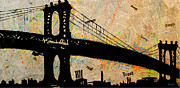 Mahattan Framed Prints - Manhattan Bound  Framed Print by Anthony Jensen