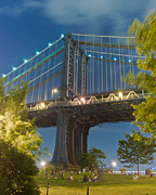 2012 Art - Manhattan Bridge at Dusk by Ken Marsh