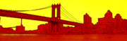 Manhattan Bridge Print by Julie Lueders