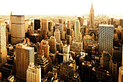 Development Metal Prints - Manhattan Metal Print by Diogo Salles