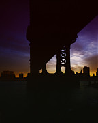 Bridge Digital Art - Manhattan  by Geo Romolo