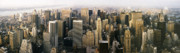 Skylines Art - MANHATTAN SKYLINE - New York City by Daniel Hagerman
