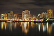 Bay Prints - Manila Bay At Night Print by Igroup