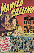 1942 Movies Framed Prints - Manila Calling, From Left, Lloyd Nolan Framed Print by Everett