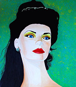 Store Window Display Paintings - Mannequin Beauty NO4 by JoeRay Kelley