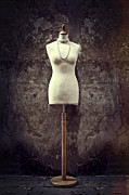 Necklace Photo Metal Prints - Mannequin Metal Print by Joana Kruse