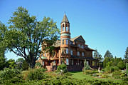 Fairlawn Prints - Mansion Magic Print by Whispering Feather Gallery