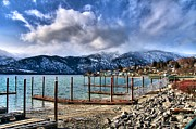 Lake Chelan Prints - Manson Washington Print by Spencer McDonald